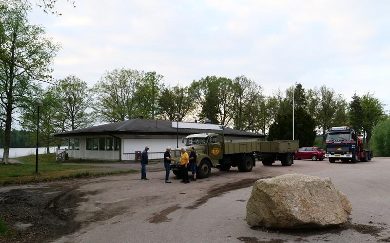 Norr om Traryd, hjälpsamma danskar, Foto: Mikael Randlöv