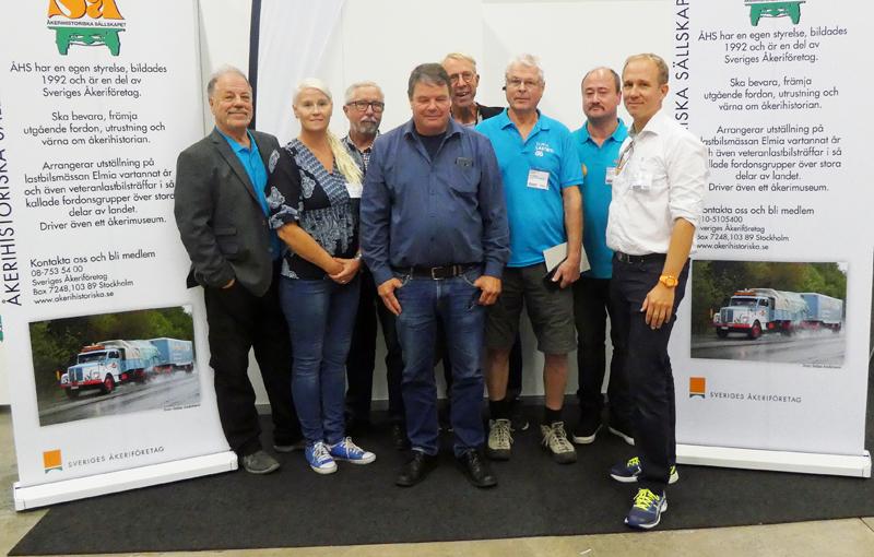 Nya styrelsen. Anders Andersson, Mari Berglund, Anders Näslund, Kenneth Hedegård, Janne Klasén, Per Thomson, Bosse Norvinge och Ingemar Resare.
