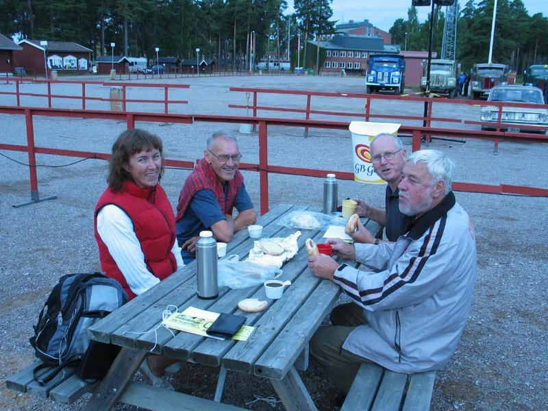 Mari och Lars-Åke bjöd på frukost