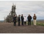 PT_foto: Konst på toppen av Kvarntorpshögen som är 120 m hög.
