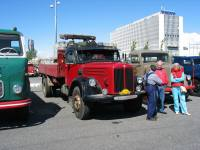 Scania Regent L71 -54 mjölkbil Sture Larsson Sollebrunn