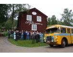 Vid Lill -Babs Museum i Järvsö.