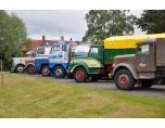 Uppställning vid Färila truckracemuseum.