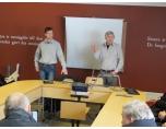 Efter lunchen gjordes studiebesök hos laserskärningsföretaget 3D