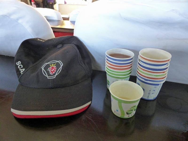 kina20 Många muggar te blev det.