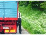 P1070654. Bosse koillar luftrtrycket i ett bakdäck på hemvägen?